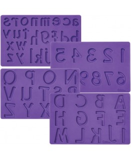 Wilton Letters/Numbers Fondant and Gum Paste Mold
