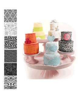 Country Kitchen Texture Set - Floral