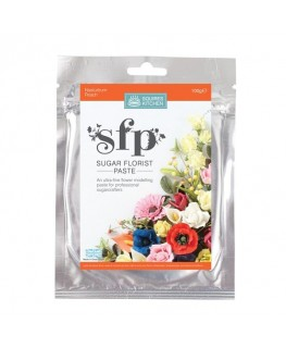 Squires Kitchen Sugar Florist Paste (SFP) Nasturtium Peach 100g