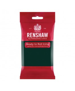 Renshaw Bottle Green Ready To Roll Fondant Icing 250g