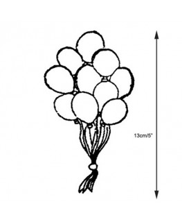 Marion Frost Patchwork Cutter Balloons -