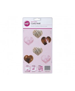 Wilton Deep Heart Truffle Candy Mold