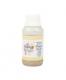 Colour Splash Edible Airbrush Colour - Pearl Gold 45g