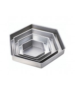 Wilton Performance Pan Set Hexagon 4pc