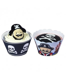 Culpitt Little Pirates Cupcake Wrappers 12pk
