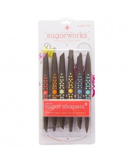 Innovative Sugarworks Firm Tip Sugar Shapers Set 6pc