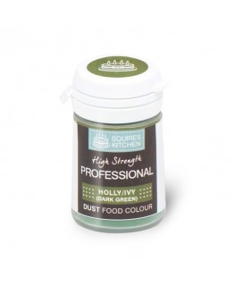 Squires Kitchen Professional Food Colour Dust Leaf Green 4g