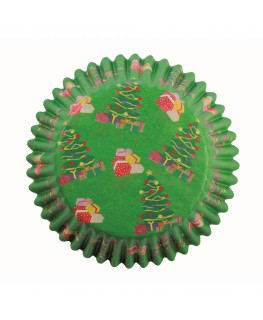 PME Christmas Parcels Cupcake Cases 60pk