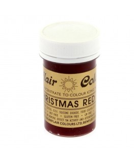 Sugarflair Christmas Red Spectral Paste Colour 25g