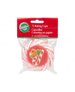 Wilton Frosted Fun Standard Cupcake Cases 75pk
