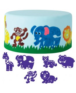 Wilton Animals Cake Stamp Set 6pc