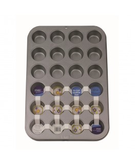 PME Non Stick 24 Cup Mini Muffin Pan 35 x 26.5 x 2cm