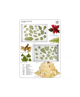 JEM Selection of Leaves Cutter Set 40pc