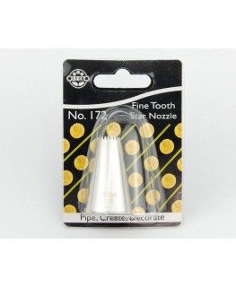 JEM Fine Tooth Open Star Nozzle #172