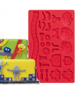 Wilton Robots and Monsters Fondant/Gum Paste Mould