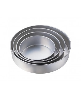 "Wilton Performance Pan Set Round 3"" Deep 4pc"