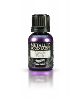 Rainbow Dust Metallic Food Paint Purple 25ml