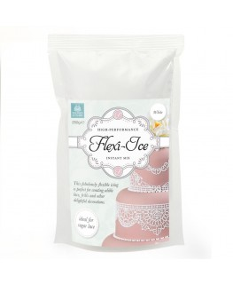 Squires Kitchen White Flexi-Ice Instant Cake Lace Mix 250g