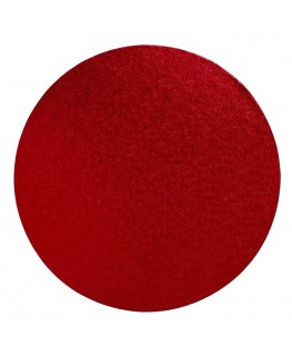 "Culpitt 10"" Round Red Cake Board"