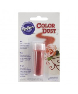 Wilton Red Colour Dust 1.4g