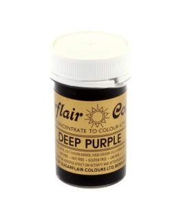Sugarflair Deep Purple Spectral Paste Colour 25g