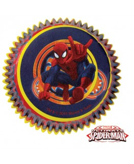 Wilton Spider-Man Ultimate Cupcake Cases 50pk