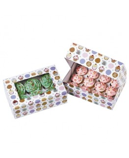 Wilton Be My Cupcake Cupcake Boxes (Holds 6) 2pk