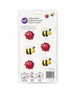 Wilton Bee & Lady Bug Candy Mould