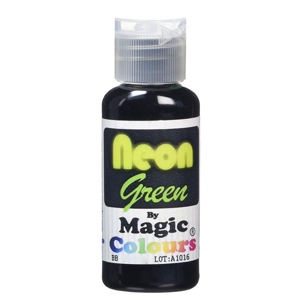 Magic Colours Neon Green Food Colouring 32g