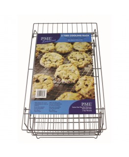 PME 3 Tier Cooling Rack 40 x 25cm