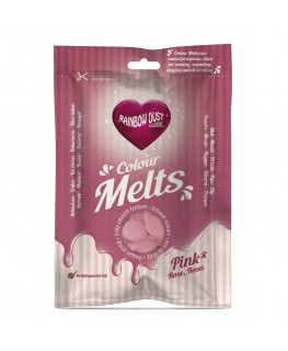 Rainbow Dust Colour Melts Pink 250g