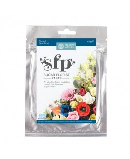 Squires Kitchen Sugar Florist Paste (SFP) Bluebell Navy Blue 100g
