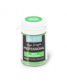Squires Kitchen Professional Food Colour Dust Mint Xmas Green 4g