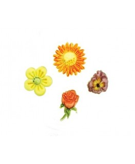 FMM Embossers - Flowers Set (1) 4pc