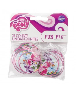 Wilton My Little Pony Fun Pix 24pk
