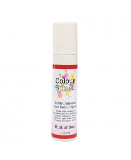 Colour Splash Edible Food Colour Spray Hint of Red 100ml