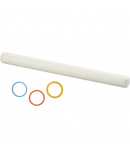 "Wilton 20"" Wide Glide Rolling Pin with Guide Rings"