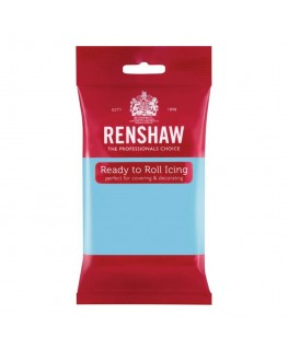 Renshaw Baby Blue Ready To Roll Fondant Icing 250g