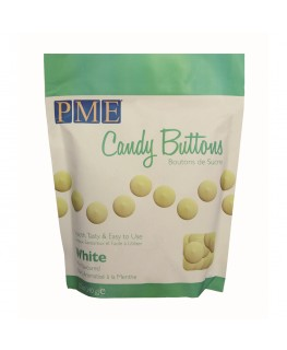 PME White Mint Flavour Candy Buttons 340g