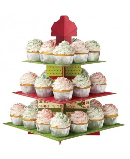 Wilton 3 Tier Homemade for the Holidays Cupcake Stand