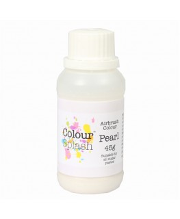 Colour Splash Edible Airbrush Colour - Pearl 45g