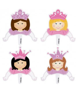 Wilton Princess Pops Fun Pix 8pk