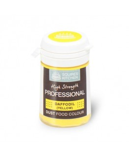 Squires Kitchen Professional Food Colour Dust Daffodil Yellow 4g