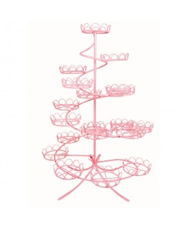 PME Pink Coated Wire Cupcake Stand (Holds 19)