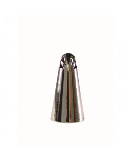 PME Frill Tube Stainless Steel Piping Nozzle - #5