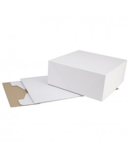 "Wilton Corrugated Cake Box 14.25"" x 14.25"" x 6"" 2pk"