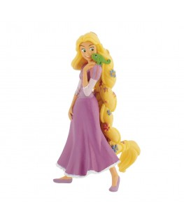 Bullyland Rapunzel With Flowers Figurine