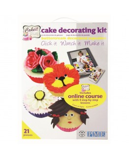 PME Cake IT - Online Buttercream Cupcake Decorating Kit
