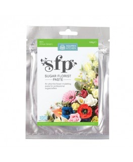 Squires Kitchen Sugar Florist Paste (SFP) Mint Xmas Green 100g