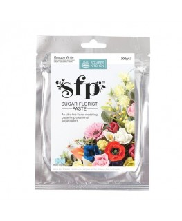 Squires Kitchen Sugar Florist Paste (SFP) Opaque White 200g